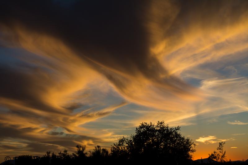 Why, Arizona sunset