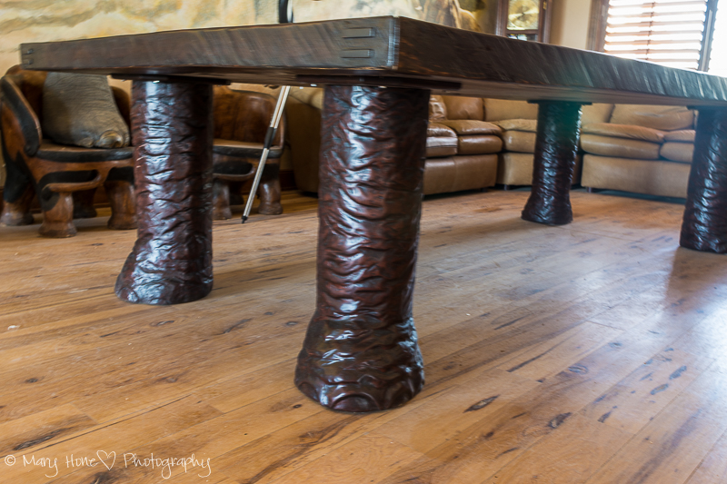 Elephant table legs