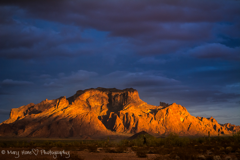 Kofa Mountains in Arizona