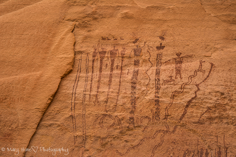 Pictographs and rainbows