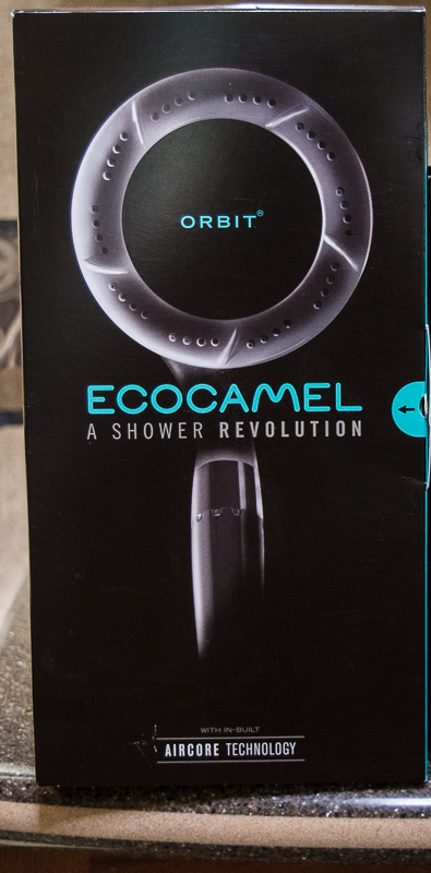 Review/Giveaway of the Ecocamel shower head