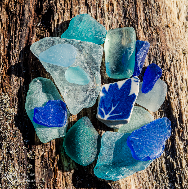 Sea Glass. Transition-Trash to Treasure.