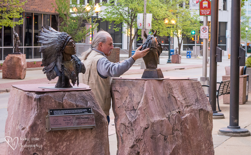 Mutual Admiration Society. Sioux Falls Sculpture Walk