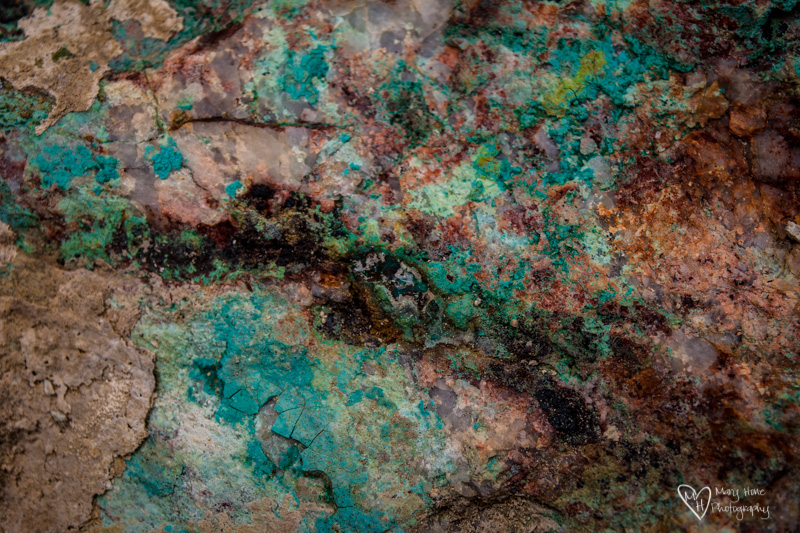 Turquoise textures