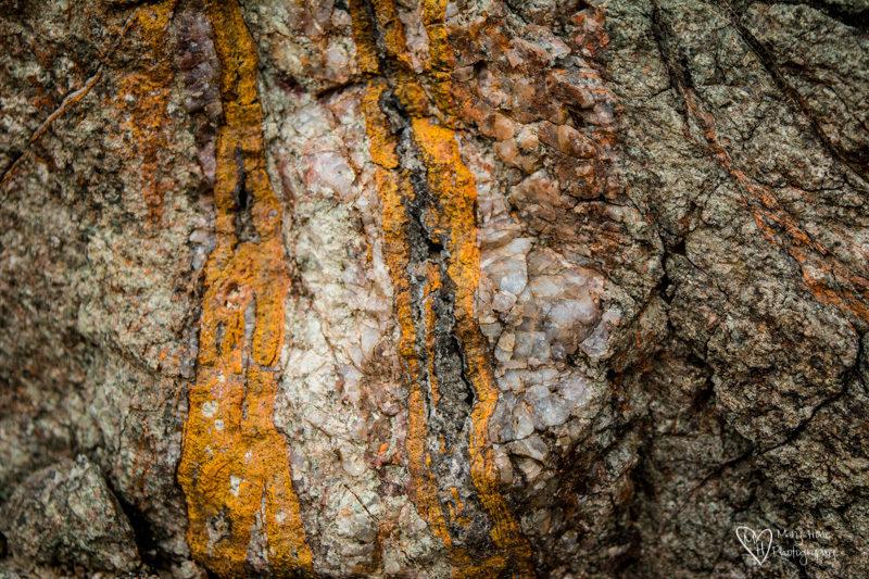 Desert Textures yellow rock and quartz