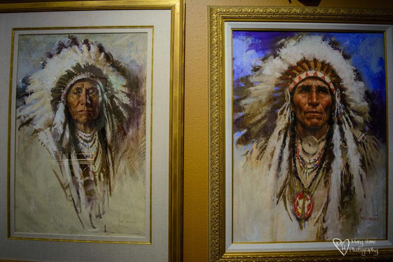 Basha's Art Gallery, Harley Brown