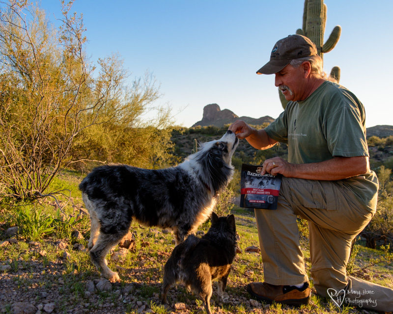 Merrick backcountry dog treats