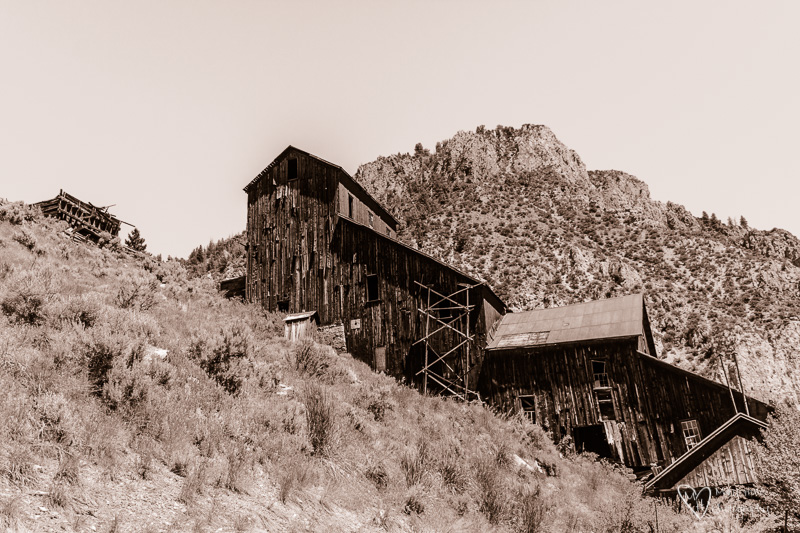 Bayhorse Ghost Town in Idaho
