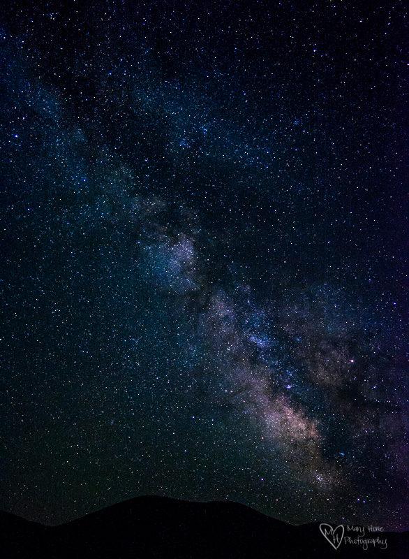 milky way star photography