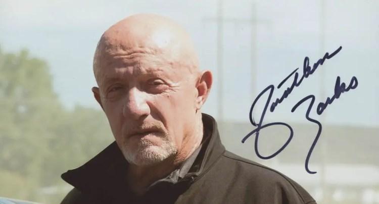 Jonathan Banks Autograph