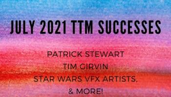 July 2021 TTM Successes