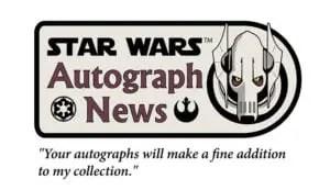 SW Autograph news