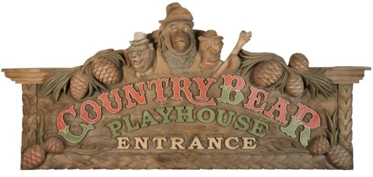 Raymond Kinman Disneyland Country Bear Playhouse