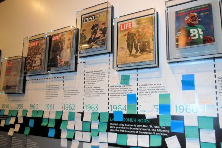 Newseum Baby Boomer Exhibit