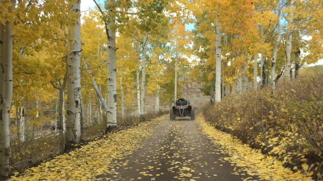 Riding the Pauite Trail