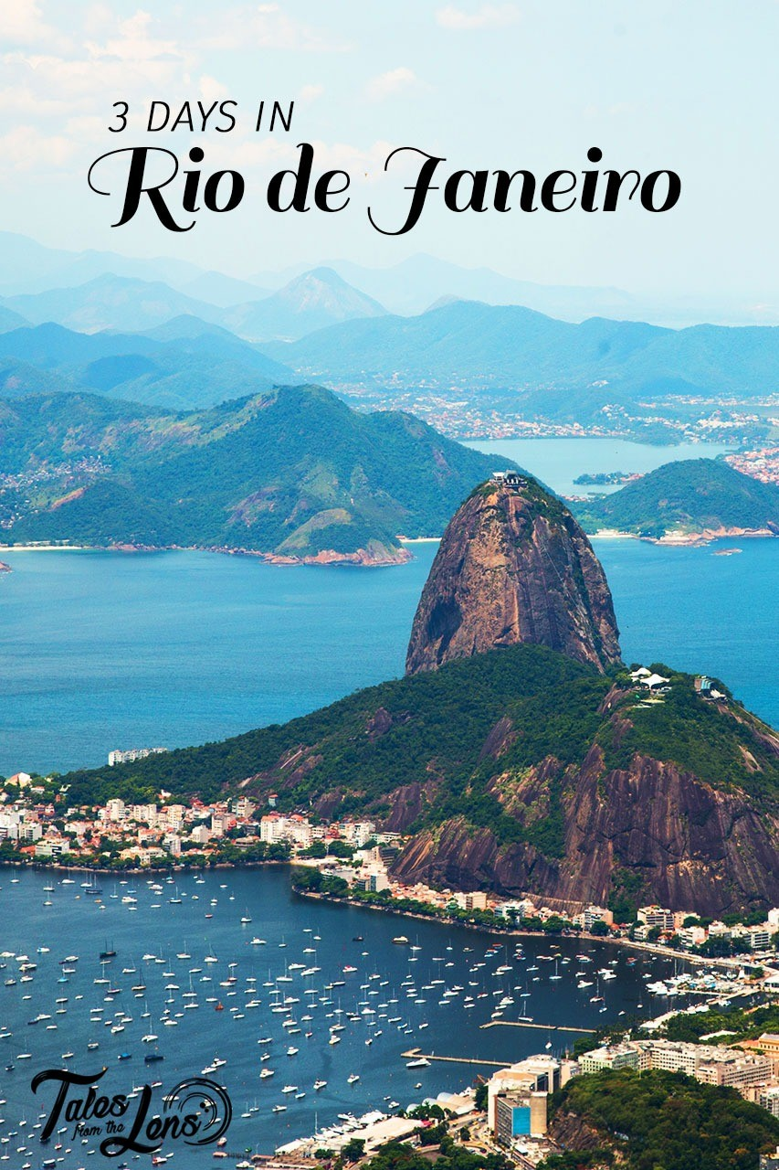 Pin It - Planning on a short trip to visit the iconic city of Rio de Janeiro in brazil. Check out our city guide of how to see the city, visit a favela and hike the Corcovado and Sugar loaf for free. Here is our guide to Rio - https://wp.me/p9dhAr-49