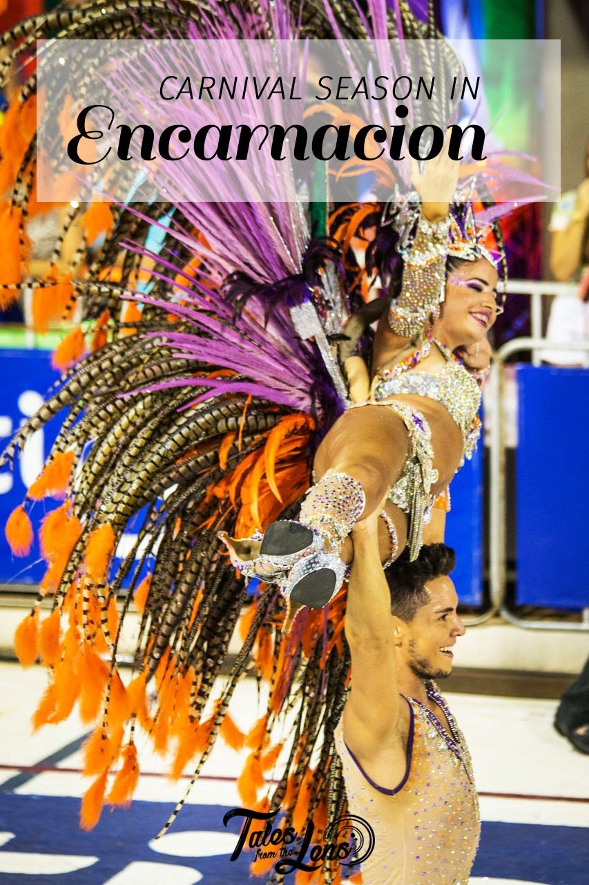 Pin-it - Encarnacion has nothing to envy Rio. The Paraguayan carnival is much noisier and offers more skin... It is also much more affordable and less touristy - https://talesfromthelens.com/2017/05/09/samba-samba/