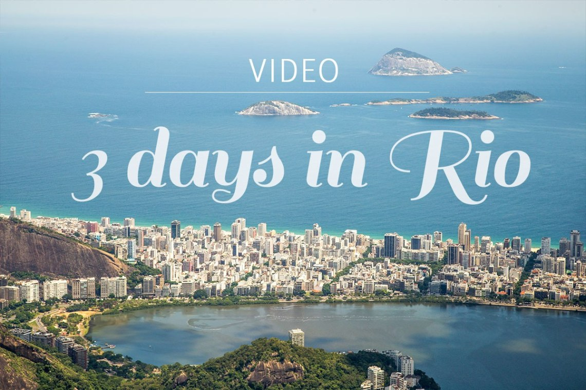 Planning a trip to Brazil and Rio de Janeiro? Watch our short video of our 3 days in the magical city of Rio de Janeiro. We hiked the Corcovado to see the Christ the Redeemer Statue, climbed the Sugar Loaf for free, visited a Favela and watched a football match. See the video here https://wp.me/p9dhAr-5a