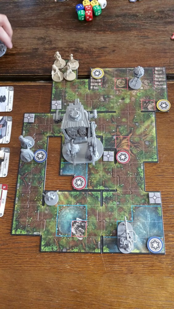 Star Wars Imperial Assault Campaign aka If you go down to the woods today........ (@ NAGA 08-06-2015) (2/6)