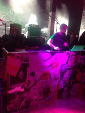 DJ kept the party going with lots of Blondie and other CBGB favourites