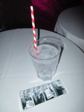 Vodka sodas, stripey straws and B&W photo strips..all hallmarks of a hipster night out can be found here