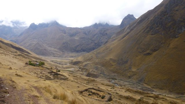 Part of the trek to Machu Picchu