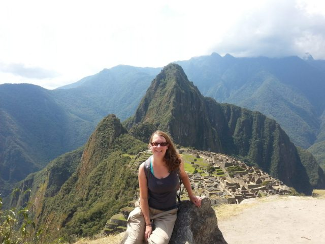 My grinning face at Machu Picchu - Backpacking South America Alone