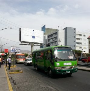 #firstworldproblems - Buses in South America are A Mystery to Me