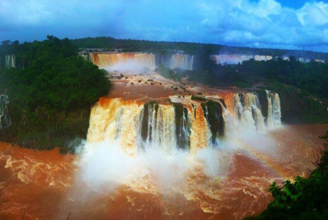 Iguazu Falls in Brazil - Backpacking South America Itinerary