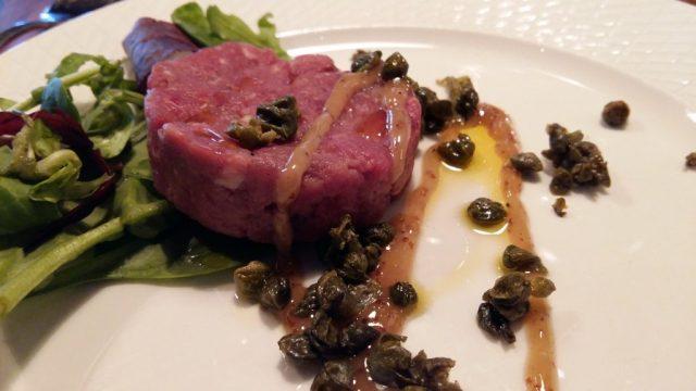 Dinner at Djurönäset - Steak Tartare