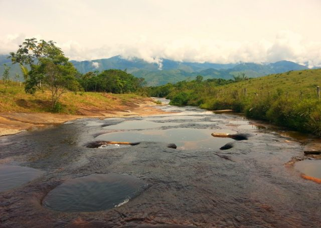 Las Gachas natural plunge pools in Guadalupe, Santander - Colombia off the beaten path