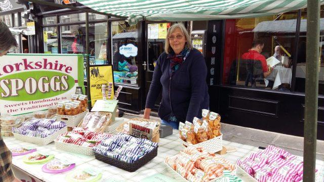 Spoggs Fudge Stall on Fossgate for York Food & Drink Festival