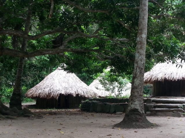 Kogi Houses in Parque Tayrona Park at Pueblito - Where to Stay in Tayrona National Park