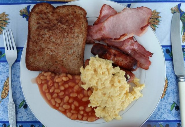 A taste of home - my Mum's Fry Up