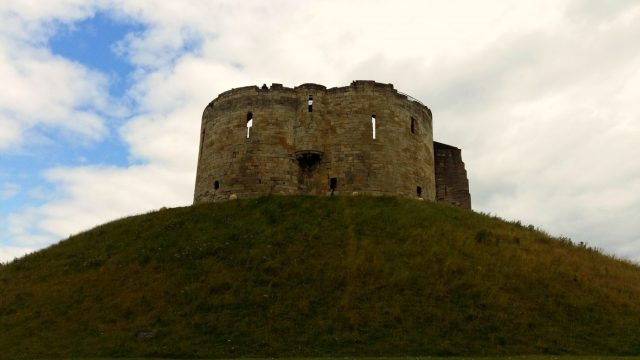 Clifford's Tower - A Backpacker's Guide to York on a Budget