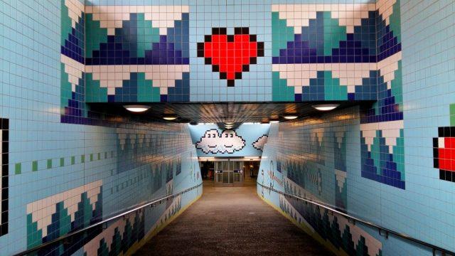 Stockholm Subway Art - Thorildsplan Station