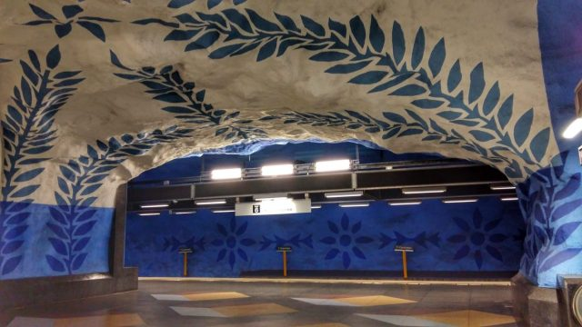 Stockholm Subway Art - T-Centralen Station