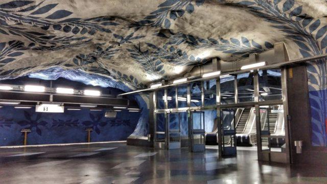 Stockholm Subway Art - T-Centralen Station