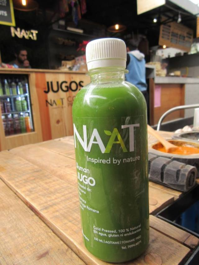 There are plenty of juices for a vegetarian in Mexico City too. vegan in mexico city