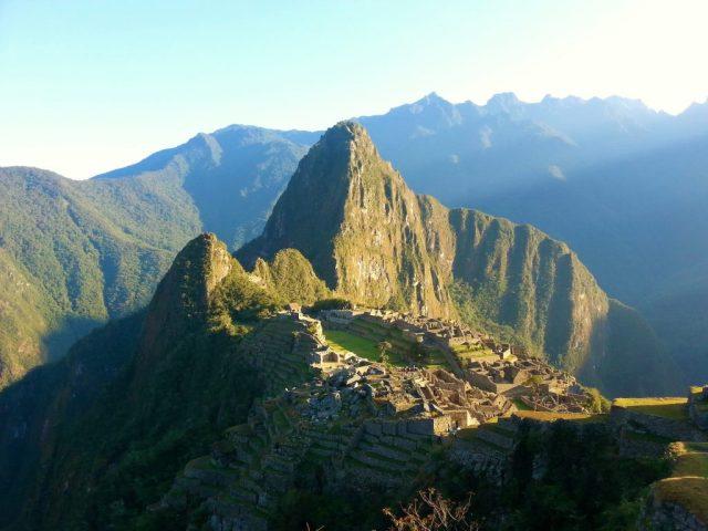 Sunrise at Machu Picchu -Photos of Machu Picchu