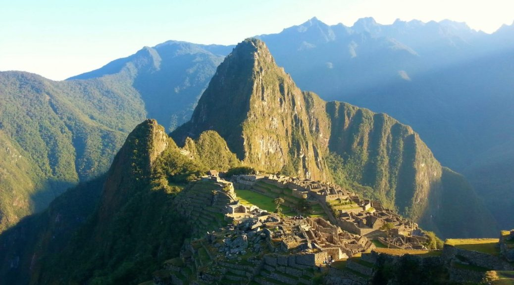 Sunrise at Machu Picchu -Photos of Machu Picchu