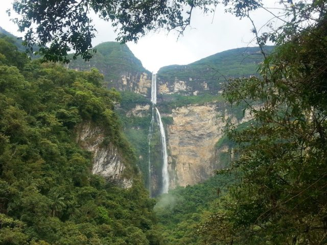 Gocta Waterfall in Chachapoyas Peru