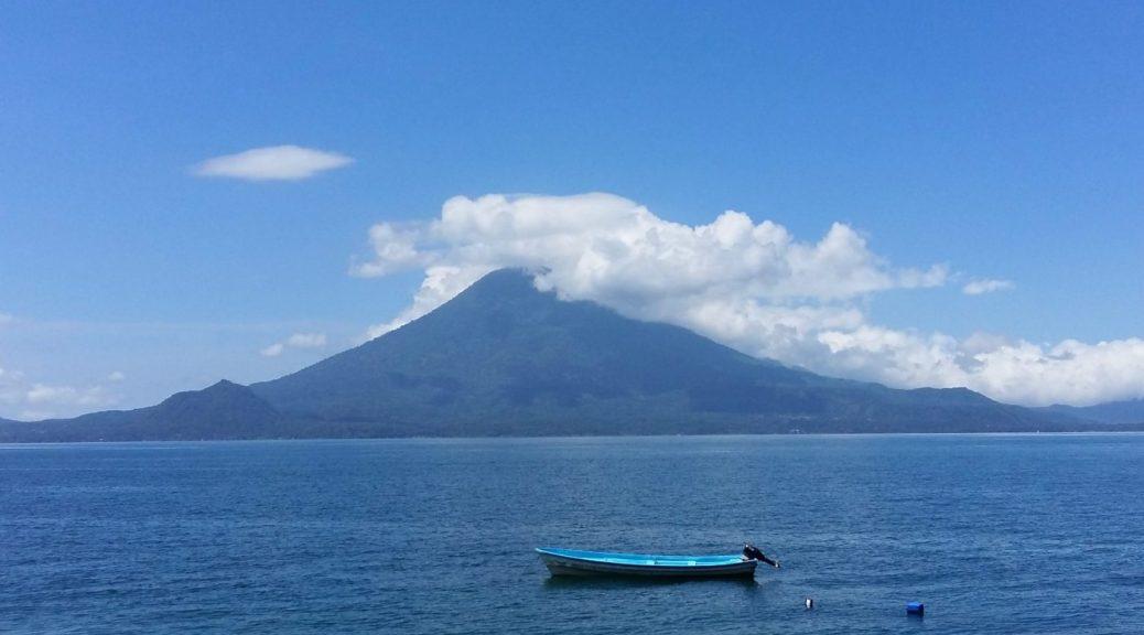 Lake Atitlan Boat & San Pedro Volcano