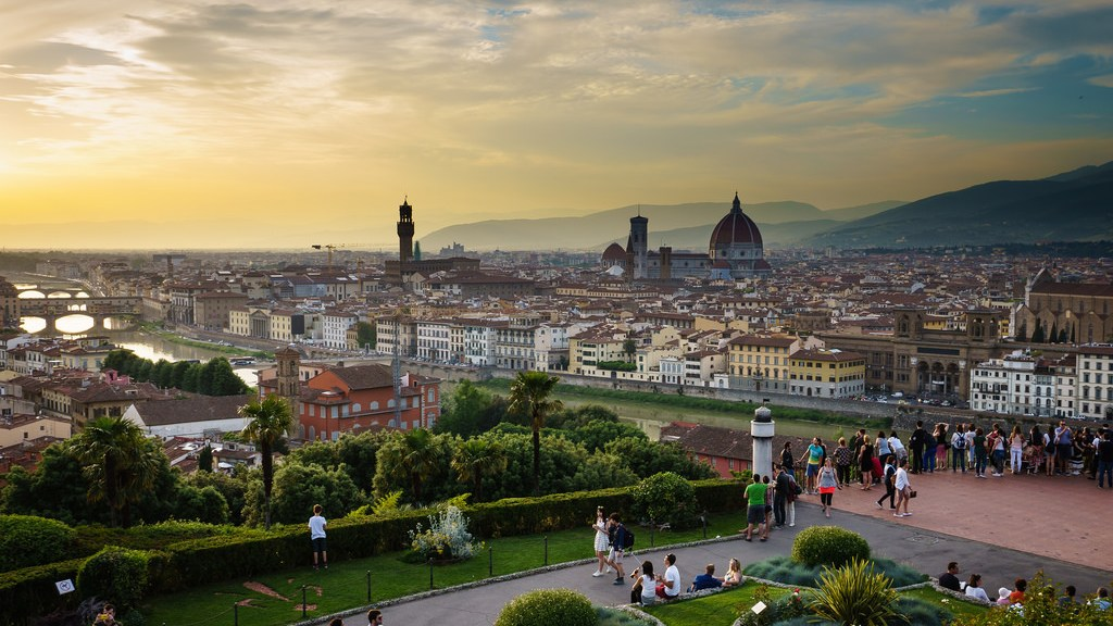 Florence Skyline View - One week Italy itinerary for Rome, Florence & Pisa