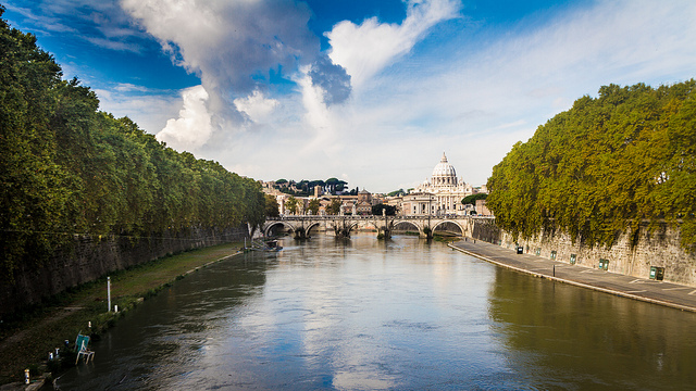 Rome Vatican View - One week Italy itinerary for Rome, Florence & Pisa