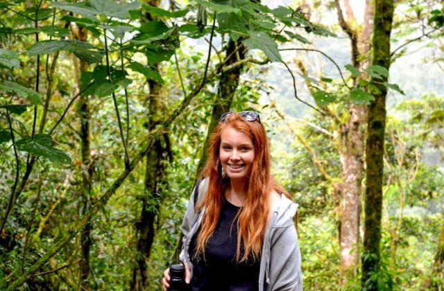 tasha amy la paz waterfall - Studying Spanish in Costa Rica