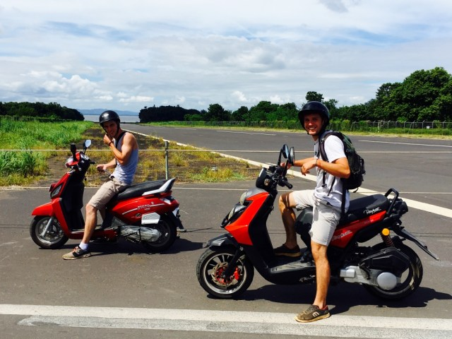 Renting a Scooter on Omepete Island is a Great Way to Explore!