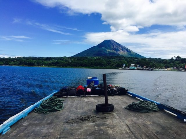 One the Ometepe Ferry from San Jorge