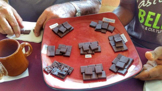 Taste Belize Food Tour - Chocolate Tasting At Ixcacao Maya Chocolate Farm