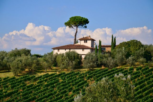 A Beautiful Farm House in Tuscany, Italy